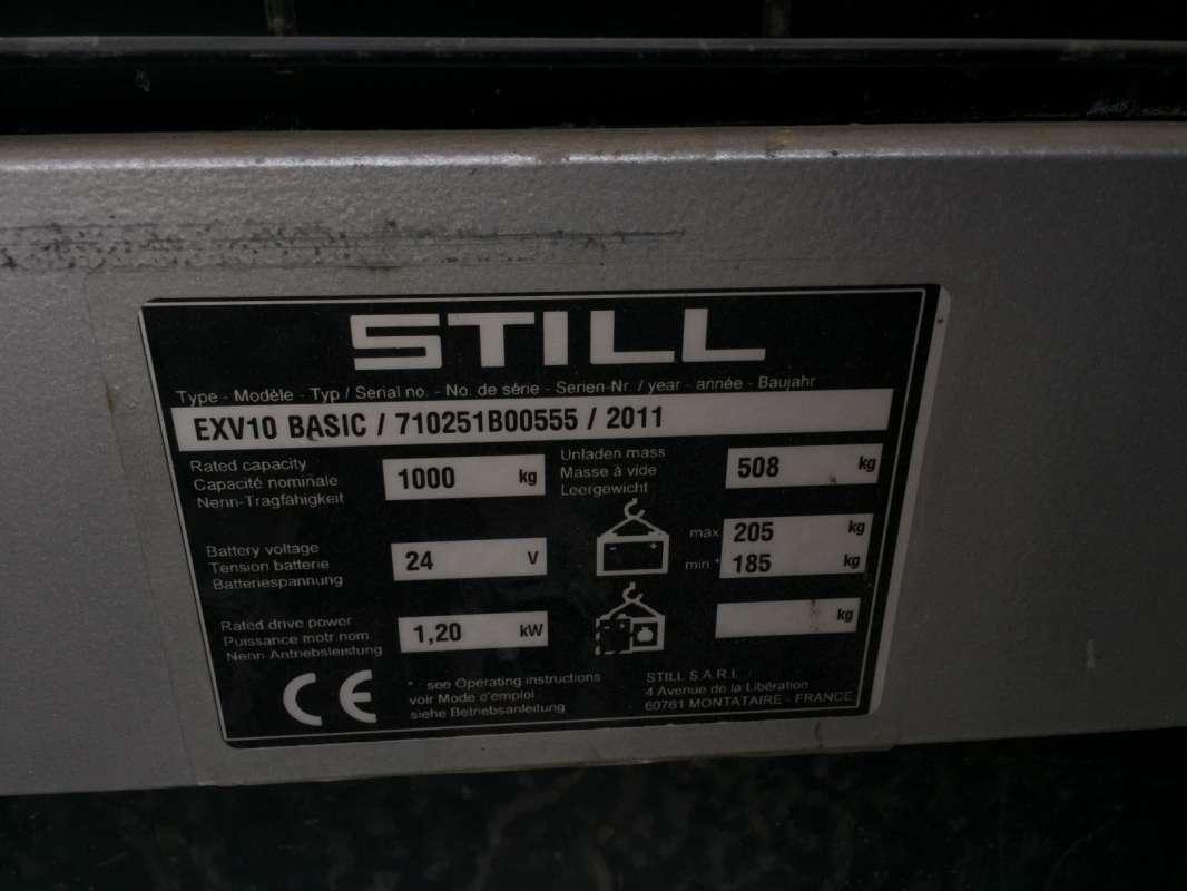 Still-EXV 10 BASIC