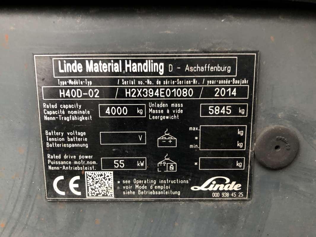 Linde-H40D